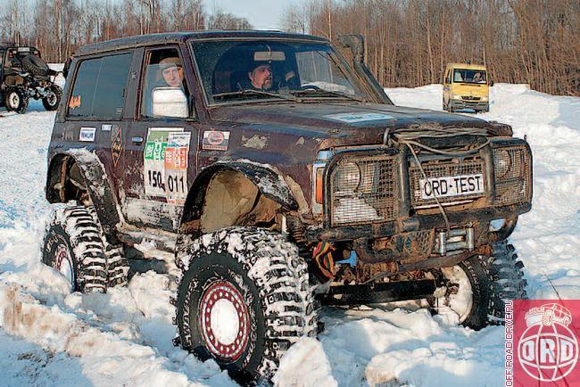 Nissan Patrol Y60.