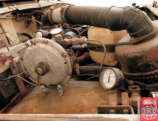 система газового впрыска