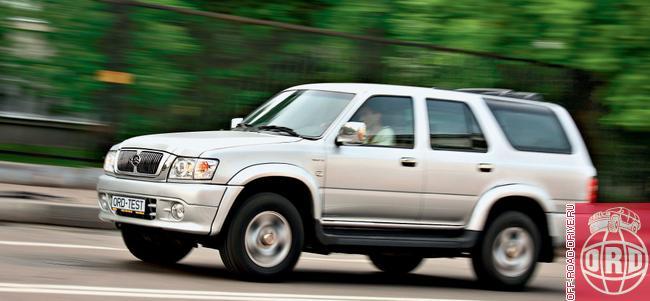 Тест-драйв Great Wall Safe SUV G5