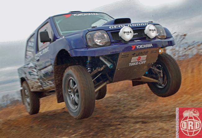 Rally-raid Jimny (G'Luck Racing) - BigJimny Forum