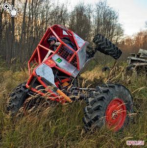 Первый отечественный триальный прототип на портальных тракторных мостах