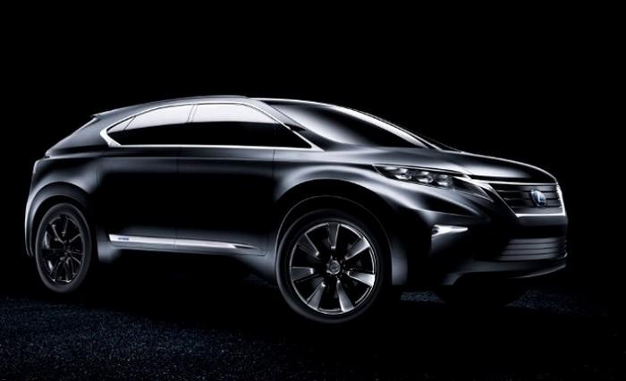 Самый компактный SUV Lexus могут показать в Женеве : Off-road drive